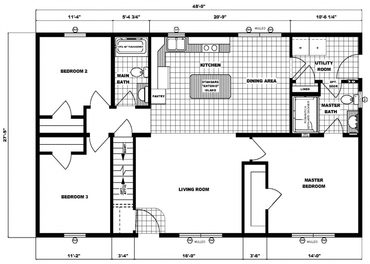 28 x 48 modular ranch home plans popular house plans and 28x48 house plans